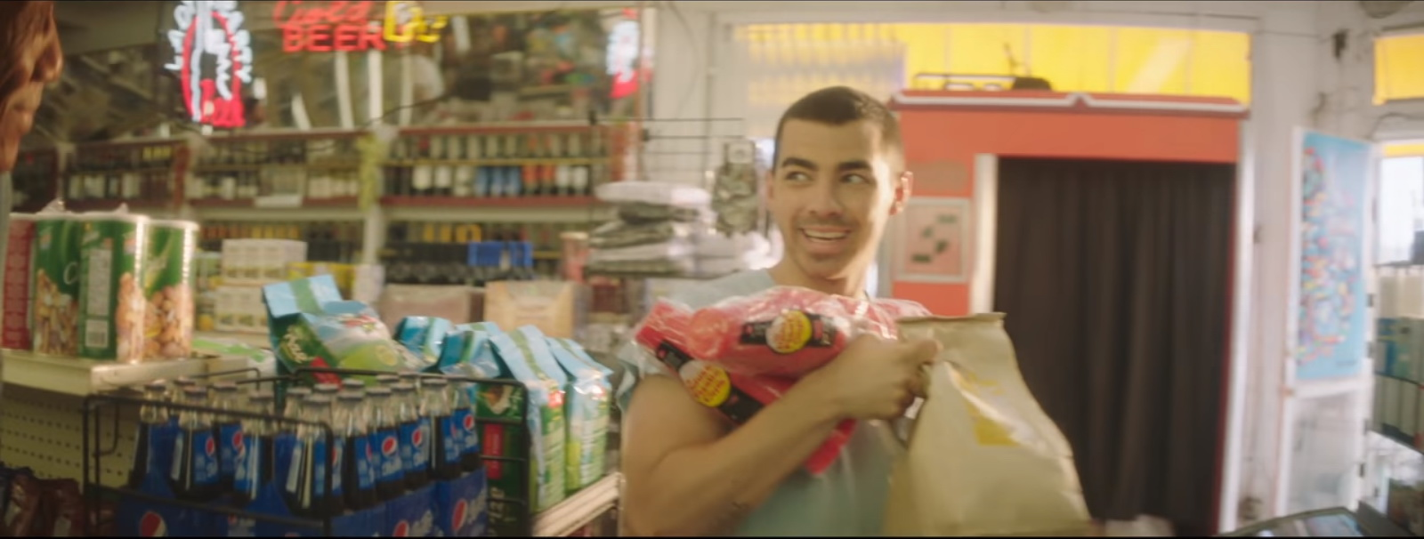 Pepsi - DNCE - Kissing Strangers ft. Nicki Minaj Official Music Video Product Placement