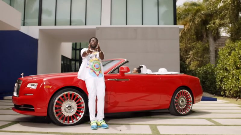 Rolls-Royce Dawn - Migos – Slippery feat. Gucci Mane Official Music Video Product Placement