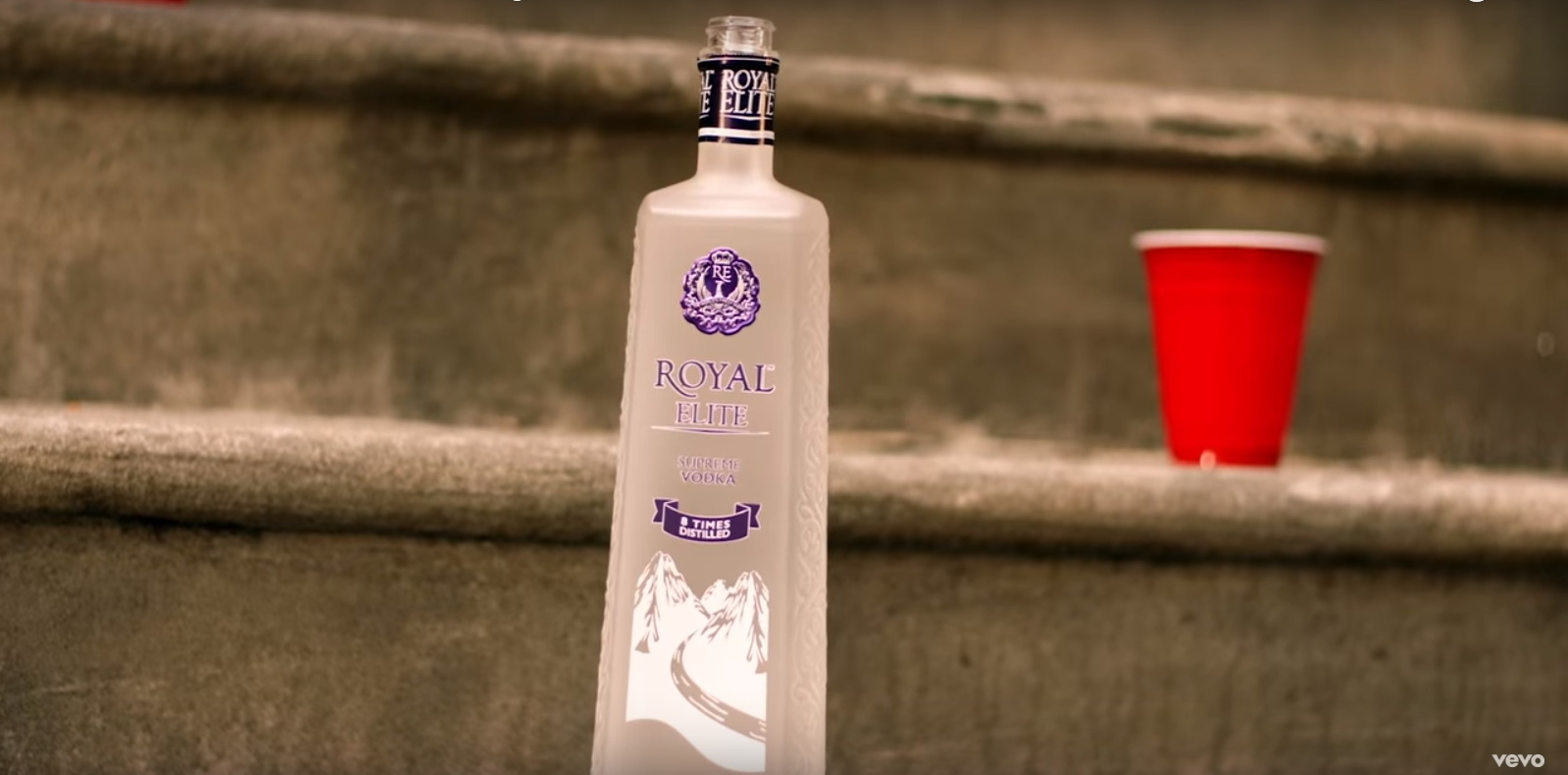 Royal Elite Vodka - Jeremih - I Think Of You Official Music Video Product Placement