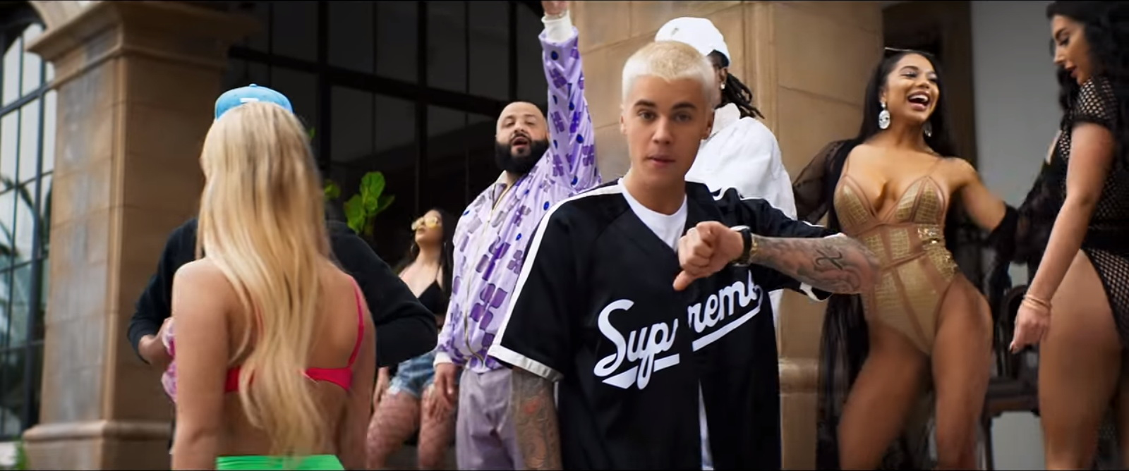 Supreme Shirt - DJ Khaled – I'm the One Official Music Video Product Placement
