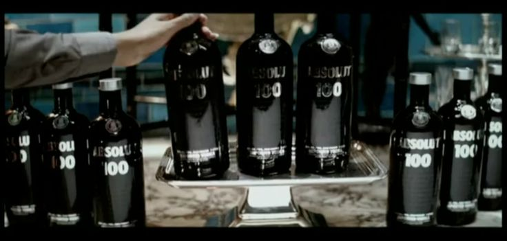 Absolut 100 Black Vodka in AYO TECHNOLOGY in 50 Cent (2007) Official Music Video Product Placement