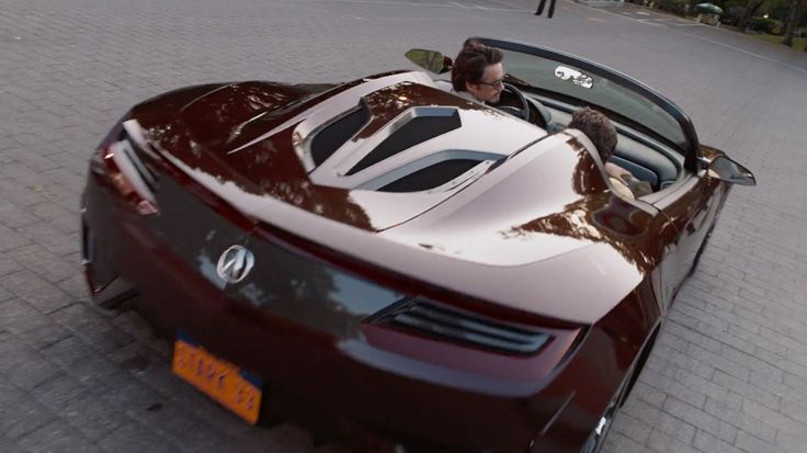 Acura NSX Roadster Concept driven by Robert Downey, Jr. in THE AVENGERS (2012) Movie Product Placement