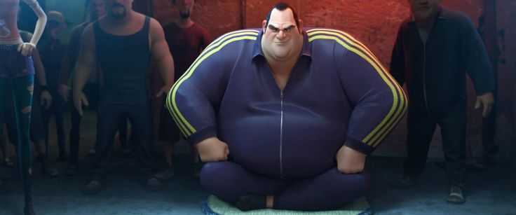 Adidas jacket in BIG HERO 6 (2014) Cartoon and Animation Movie Product Placement