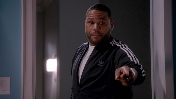 Adidas jacket - BLACK-ISH: THE NOD (2014) TV Show Product Placement