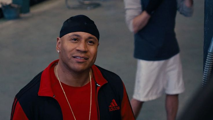 Adidas jacket worn by LL Cool J in GRUDGE MATCH (2013) Movie Product Placement