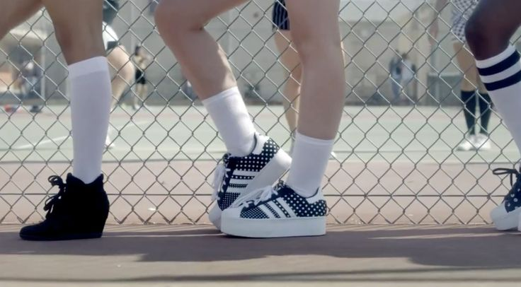 Adidas Sneakers -  Iggy Azalea - Fancy Official Music Video Product Placement
