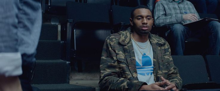 Adidas t-shirt worn by Anthony Kelley in THE GAMBLER (2014) Movie Product Placement