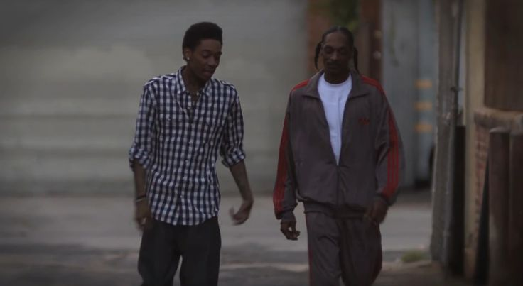 Adidas Tracksuit - Snoop Dogg & Wiz Khalifa - Young Wild And Free Official Music Video Product Placement