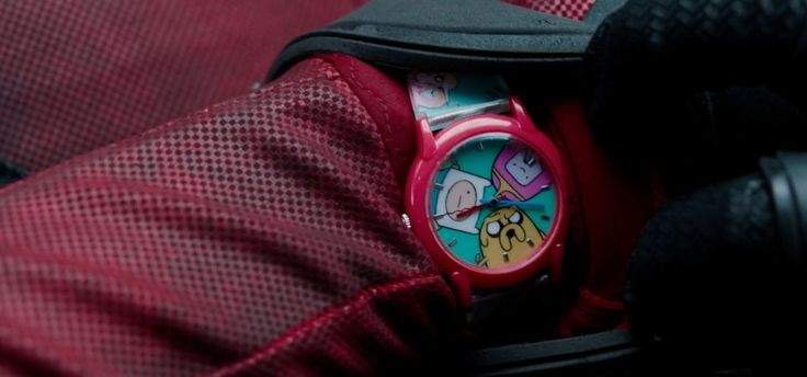 Adventure Time watch in DEADPOOL (2016) Movie Product Placement