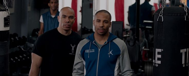 Air Jordan jacket worn by Andre Ward and Title punching bag in CREED (2015) Movie Product Placement