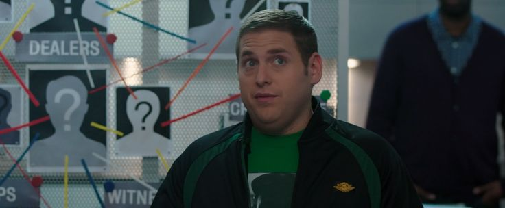 Air Jordan jacket worn by Jonah Hill in 22 JUMP STREET (2014) - Movie Product Placement
