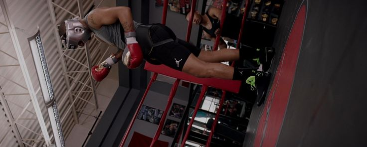 Air Jordan shorts and shoes worn by Andre Ward in CREED (2015) Movie Product Placement