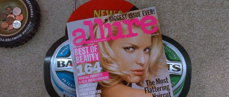 Allure magazine in Death Proof (2007) Movie Product Placement