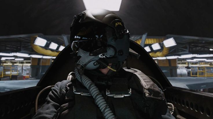 ALPHA Eagle Pilot Helmet - THE AVENGERS (2012) Movie Product Placement