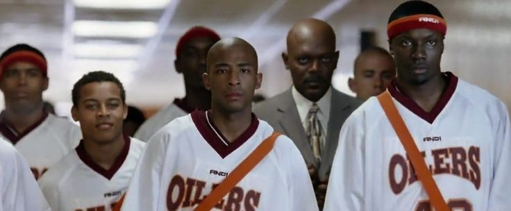And1 warm-up jersey in COACH CARTER (2005) - Movie Product Placement