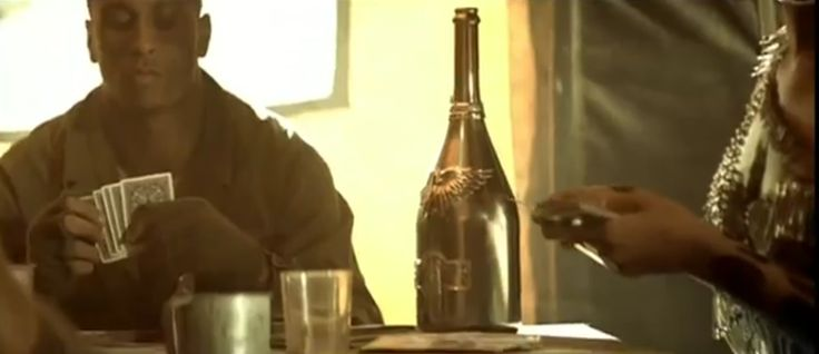 Angel champagne in HARD by Rihanna (2009) Official Music Video Product Placement