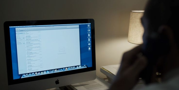 Apple iMac computer and Avaya telephone used by Michael Kelly in HOUSE OF CARDS: CHAPTER 45 (2016) - TV Show Product Placement