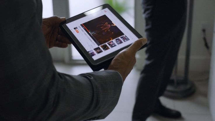 Apple iPad and Youtube website - BALLERS: RAISE UP (2015) TV Show Product Placement