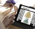 Apple iPad tablet and Revolve Clothing app used by Iggy Azal...