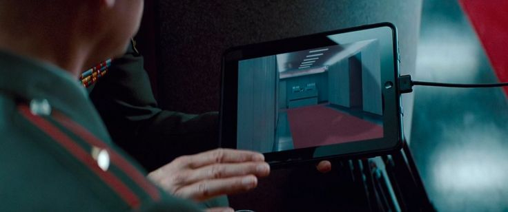 Apple iPad tablet in Mission: Impossible - Ghost Protocol (2011) Movie Product Placement