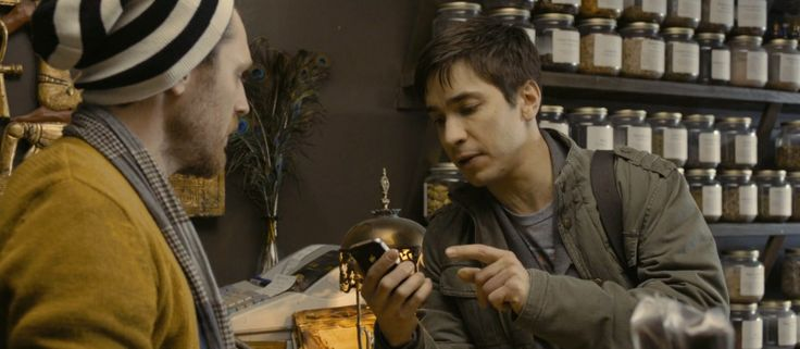 Apple iPhone 4 used by Justin Long in A CASE OF YOU (2013) Movie Product Placement