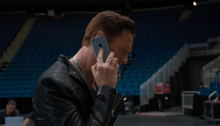 Apple iPhone mobile phone used by Damian Lewis in BILLIONS: THE SHORT SQUEEZE (2016) TV Show Product Placement