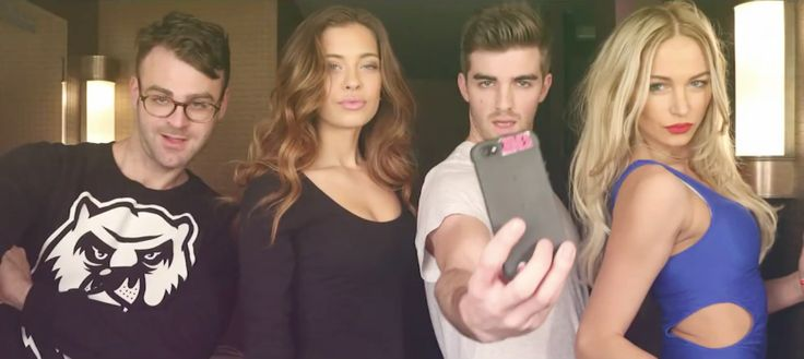 Apple iPhone mobile phones in #SELFIE by The Chainsmokers (2014) - Official Music Video Product Placement