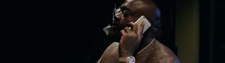 Apple iPhone used by Rick Ross in SORRY (2015) Official Music Video Product Placement
