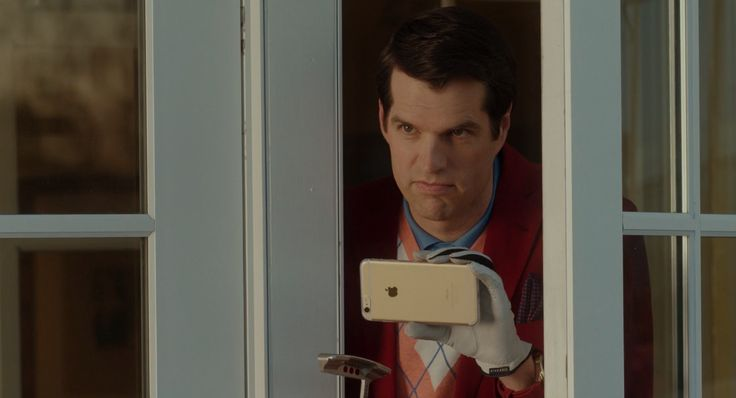 Apple iPhone used by Timothy Simons in THE BOSS (2016) - Movie Product Placement
