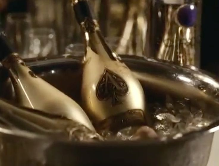 Armand de Brignac champagne and Ciroc vodka in ROC BOYS (AND THE WINNER IS)... by Jay-Z (2007) Official Music Video Product Placement