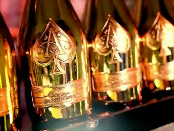 Armand de Brignac champagne in BLAME IT by Jamie Foxx (2009) - Official Music Video Product Placement