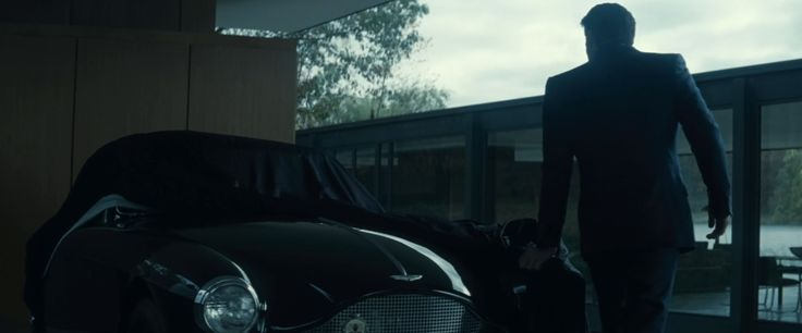 Aston Martin DB Mark III (1958) car in BATMAN V SUPERMAN: DAWN OF JUSTICE (2016) Movie Product Placement