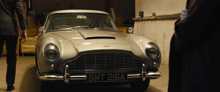 Aston Martin DB5 (1964) Retro Car - SKYFALL (2012) Movie Product Placement