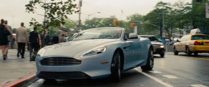 Aston Martin DB9 Volante car driven by Nikolaj Coster-Waldau in THE OTHER WOMAN (2014) Movie Product Placement