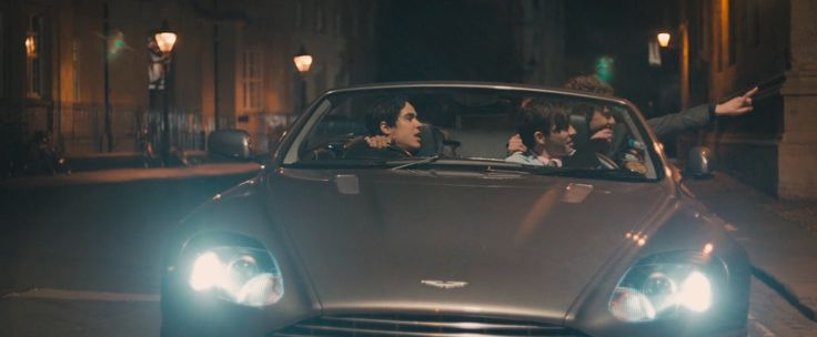 Aston Martin DB9 Volante car in The Riot Club (2014) Movie Product Placement