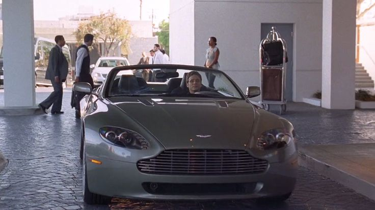 Aston Martin V8 Vantage Roadster (2009) car driven by Kevin Connolly in ENTOURAGE: THE SORKIN NOTES (2009) - TV Show Product Placement