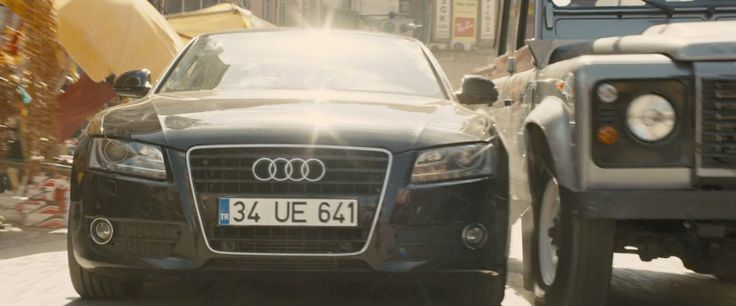 Audi A5 B8 in SKYFALL (2012) Movie Product Placement