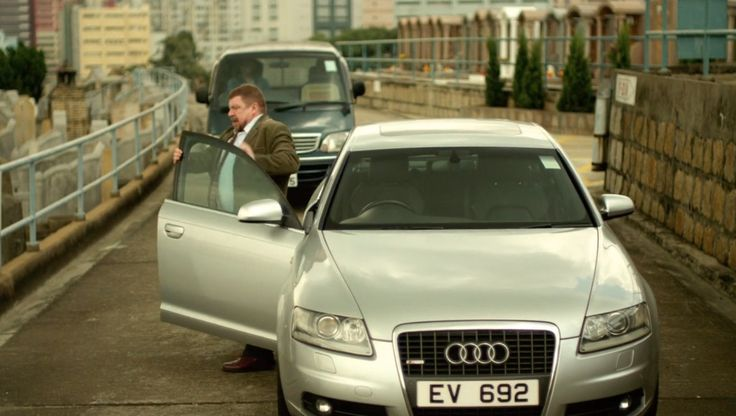 Audi A6 C6 (2006) in CONTAGION (2011) Movie Product Placement