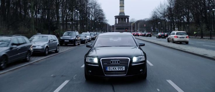 Audi A8 D3 car - WAR MACHINE (2017) Movie Product Placement