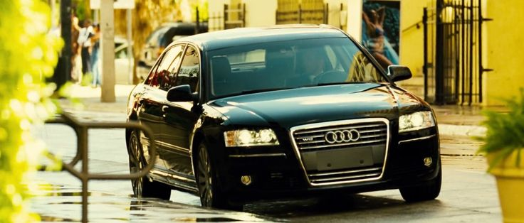 Audi A8 L D3 (2005) car in TRANSPORTER 2 (2005) - Movie Product Placement