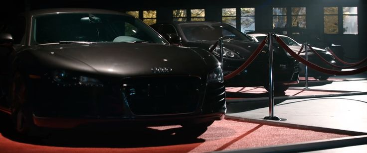 Audi R8 and Porsche Panamera - The Interview (2014) Movie Product Placement