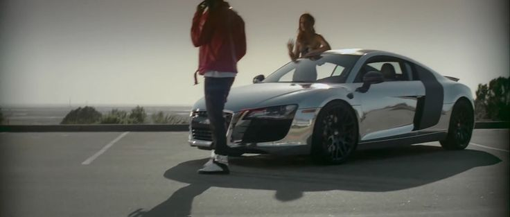 Audi R8 Car in LET ME LOVE YOU (UNTIL YOU LEARN TO LOVE YOURSELF) by Ne-Yo (2012) Official Music Video Product Placement