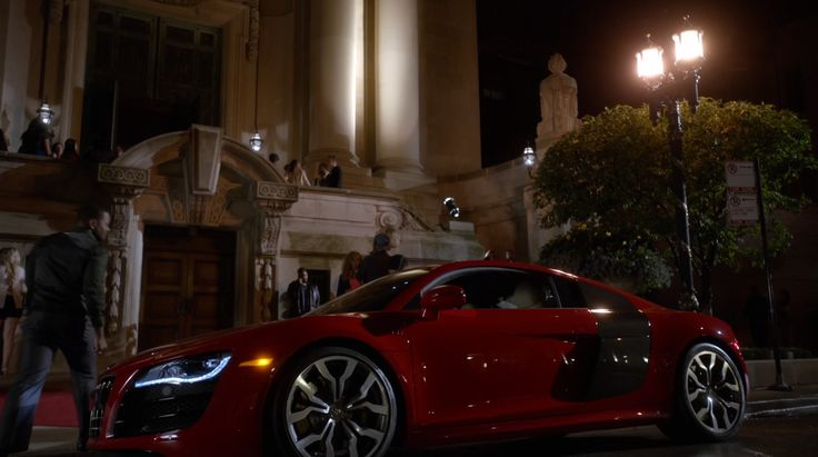 Red Audi R8 Car in EMPIRE: THE OUTSPOKEN KING (2015) - TV Show Product Placement