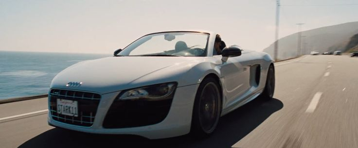 Audi R8 Spyder (2010) Car - IRON MAN 2 (2010) Movie Product Placement