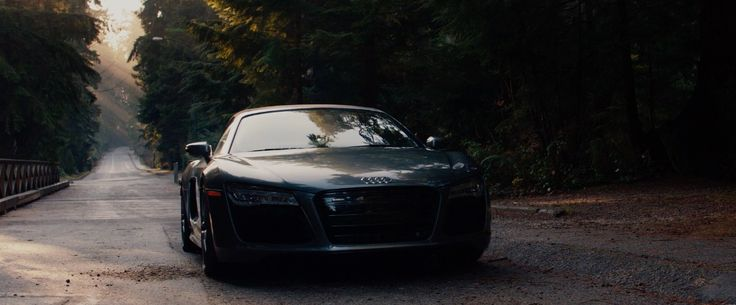 Audi R Spyder Car In FIFTY SHADES OF GREY Movie Scenes - Audi car in 50 shades of grey