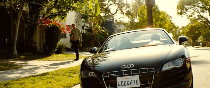 Audi R8 Spyder (2013) car in TAKEN 3 (2014) Movie Product Placement