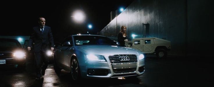 Audi S5 Car - IRON MAN (2008) Movie Product Placement