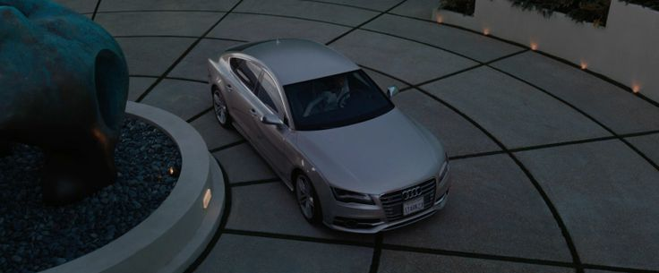 Audi S7 - IRON MAN 3 (2013) Movie Product Placement