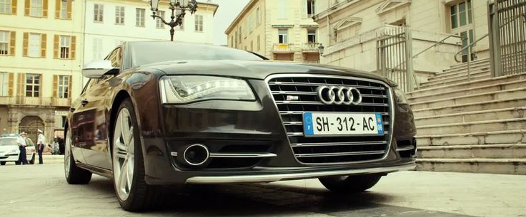 Audi S8 D4 (2012) car in THE TRANSPORTER REFUELED (2015) Movie Product Placement