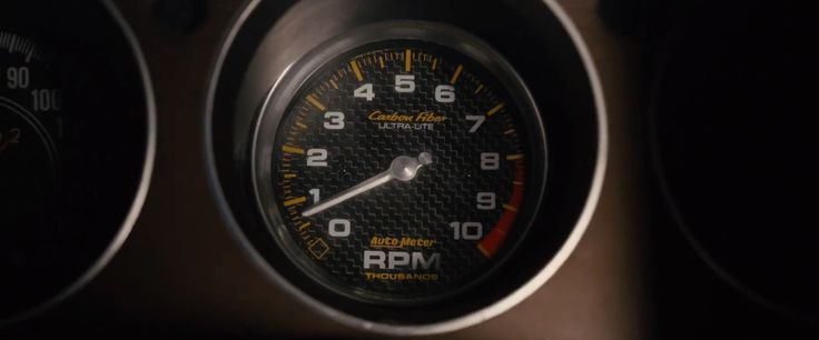 AutoMeter speedometer in FURIOUS 7 (2015) Movie Product Placement